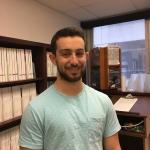 Joel Rosenblum, student trainee